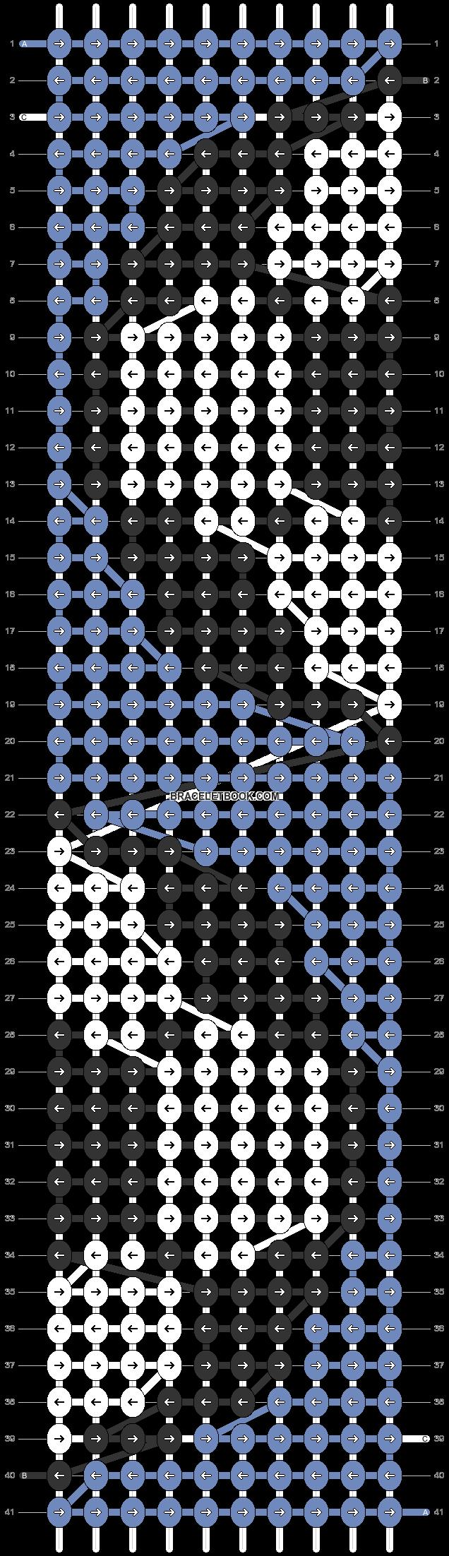Alpha pattern #80662 pattern