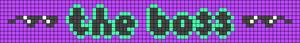 Alpha pattern #80684