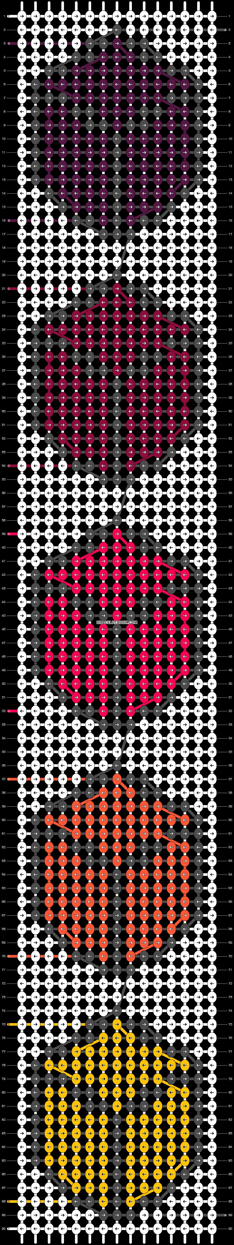 Alpha pattern #80716 pattern