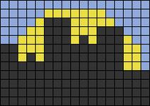 Alpha pattern #80737