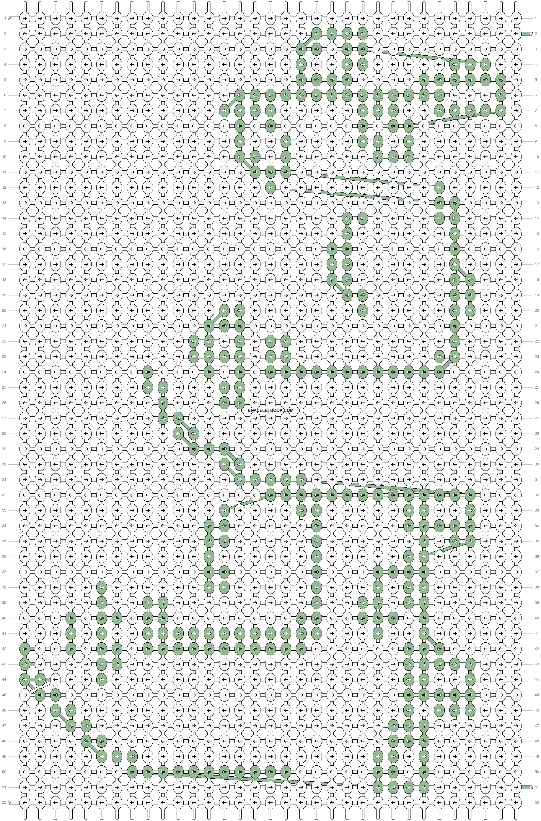 Alpha pattern #80750 pattern