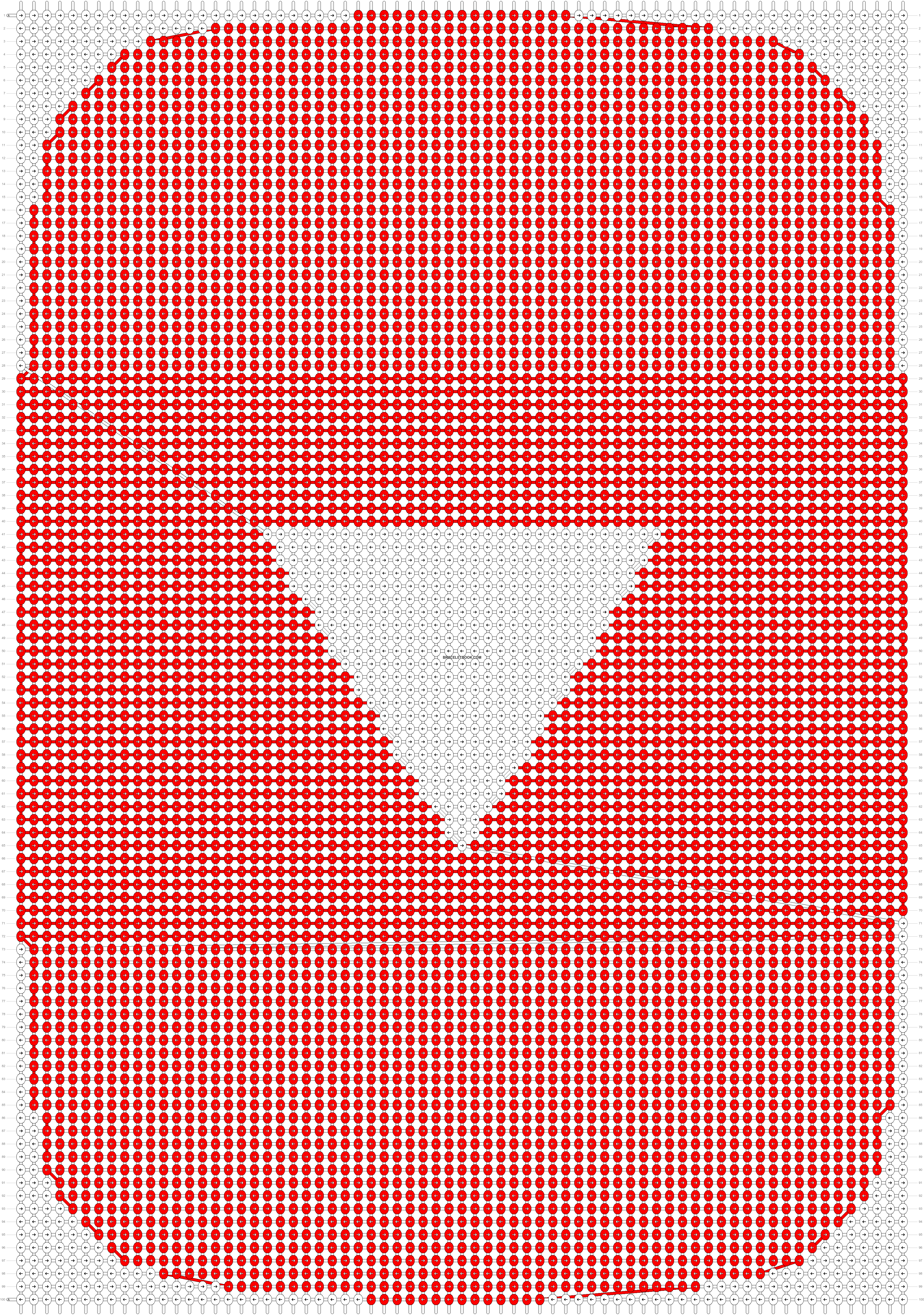 Alpha pattern #80751 pattern