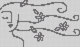 Alpha pattern #80754