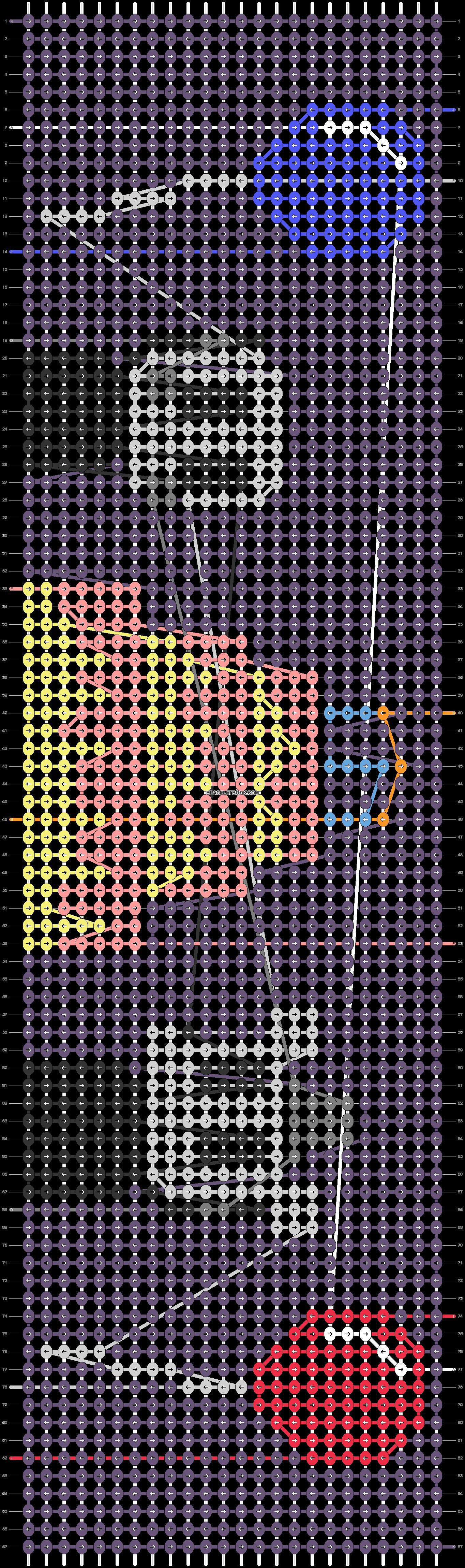 Alpha pattern #80761 pattern
