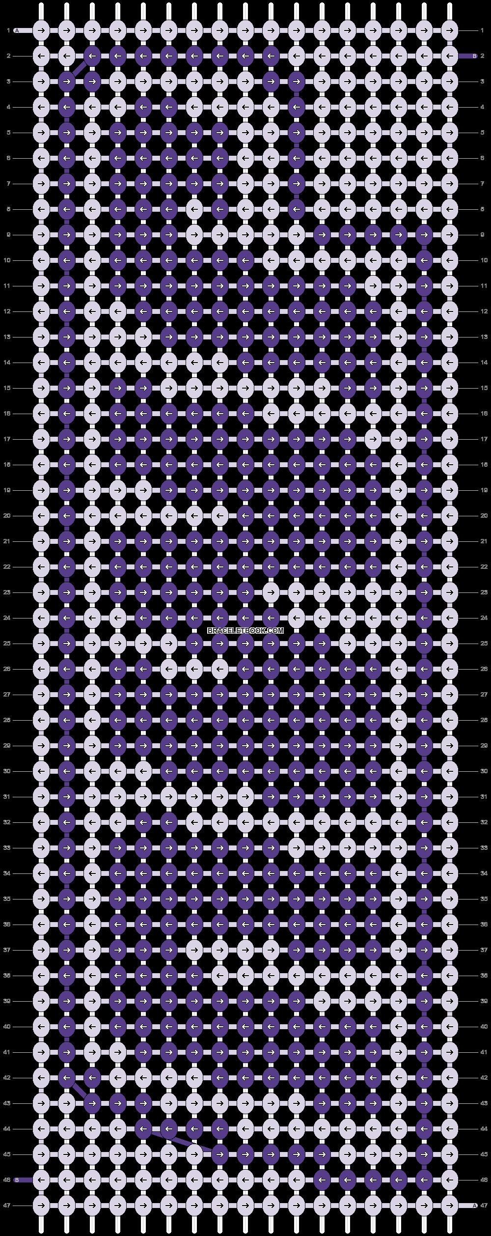 Alpha pattern #80811 pattern