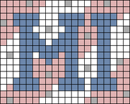 Alpha pattern #80824
