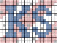 Alpha pattern #80825