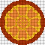 Alpha pattern #80887