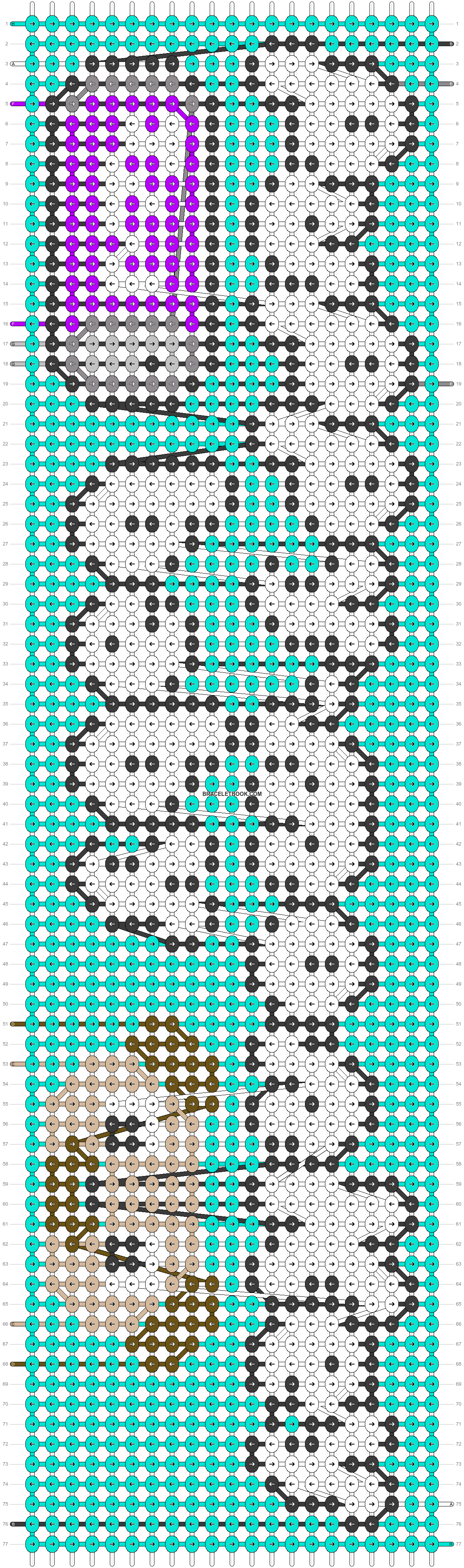 Alpha pattern #80901 pattern