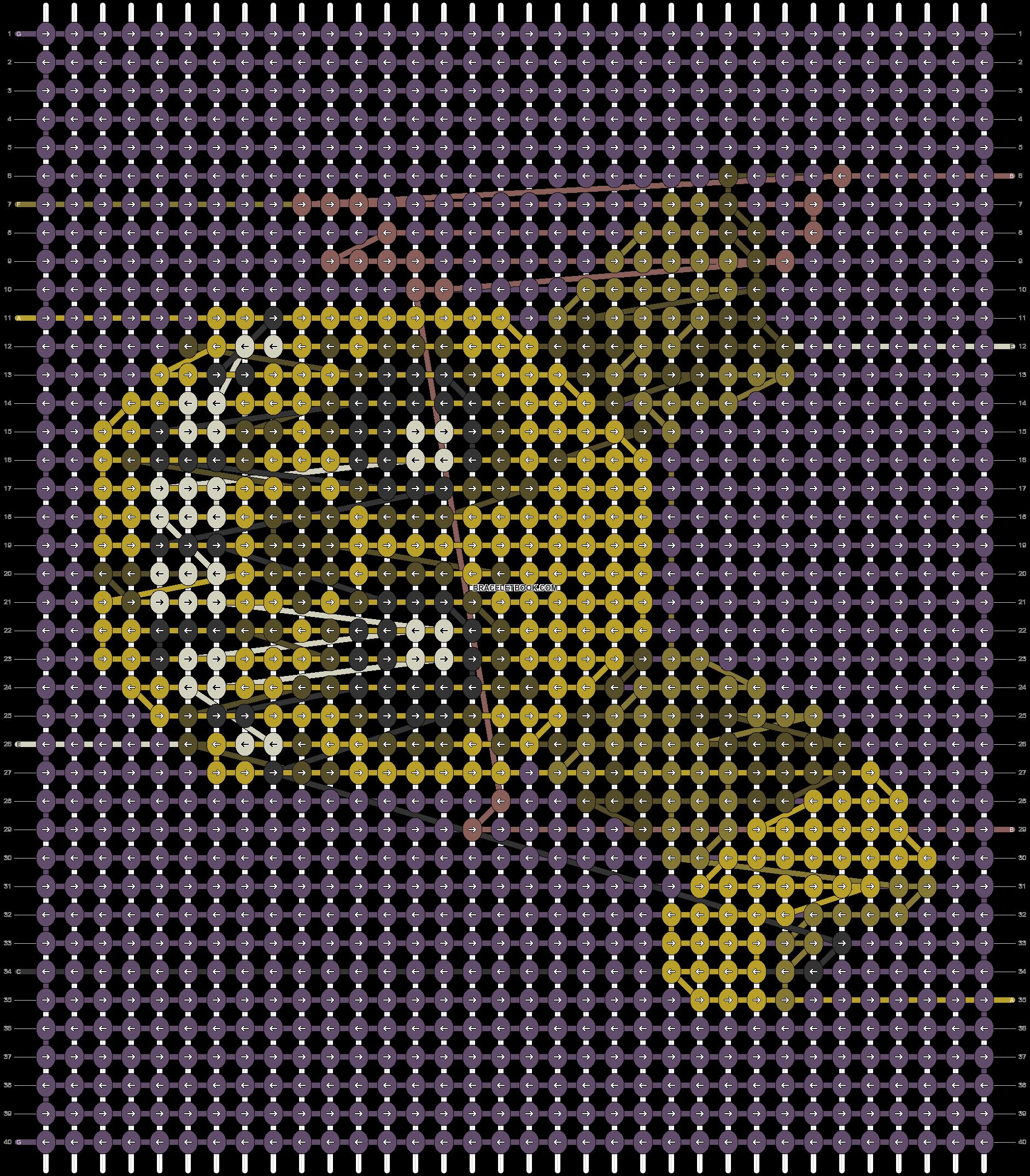 Alpha pattern #80903 pattern