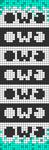 Alpha pattern #80905