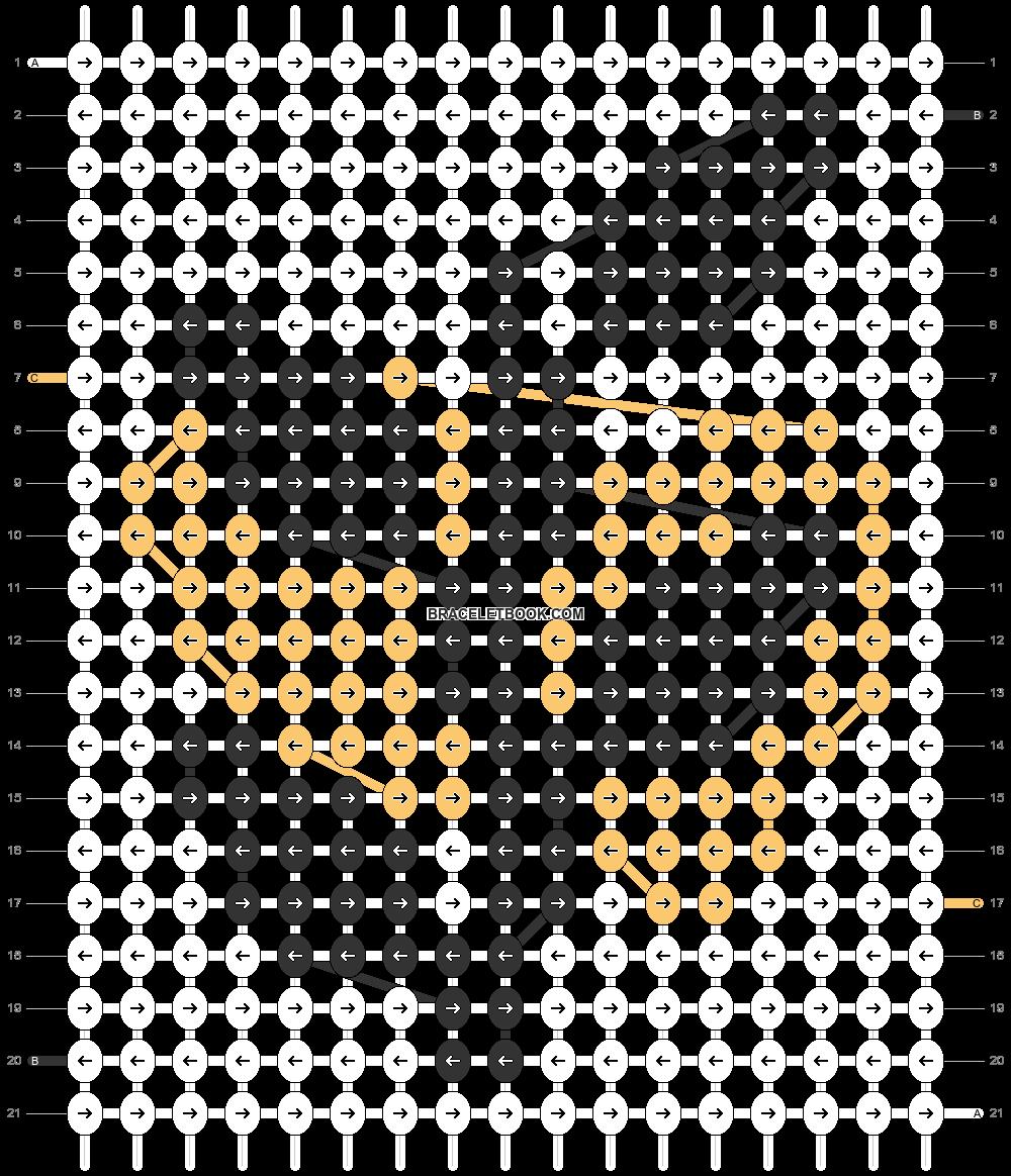 Alpha pattern #80907 pattern