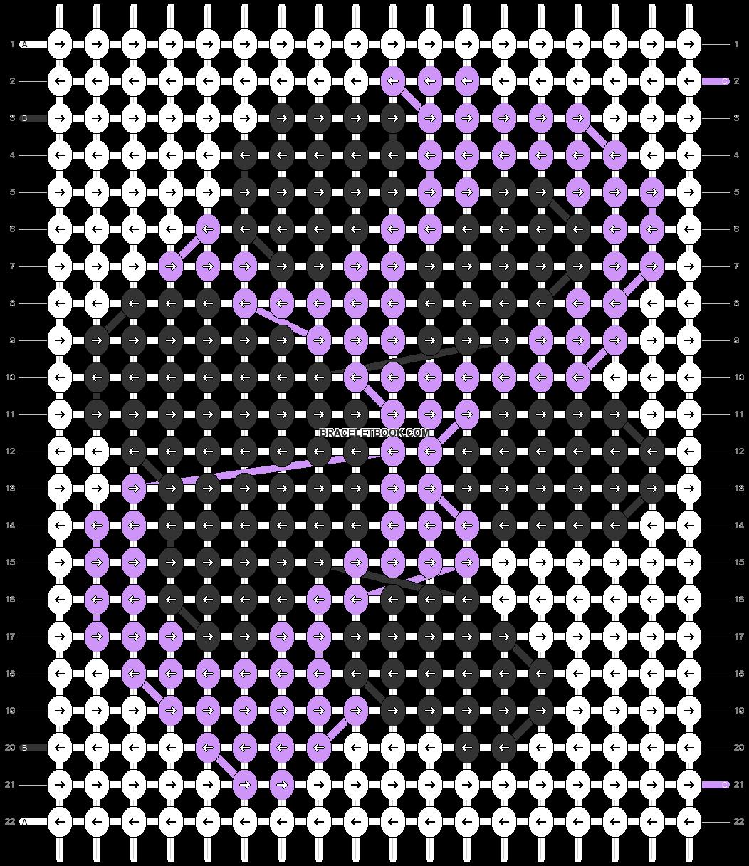 Alpha pattern #80910 pattern