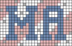 Alpha pattern #80951