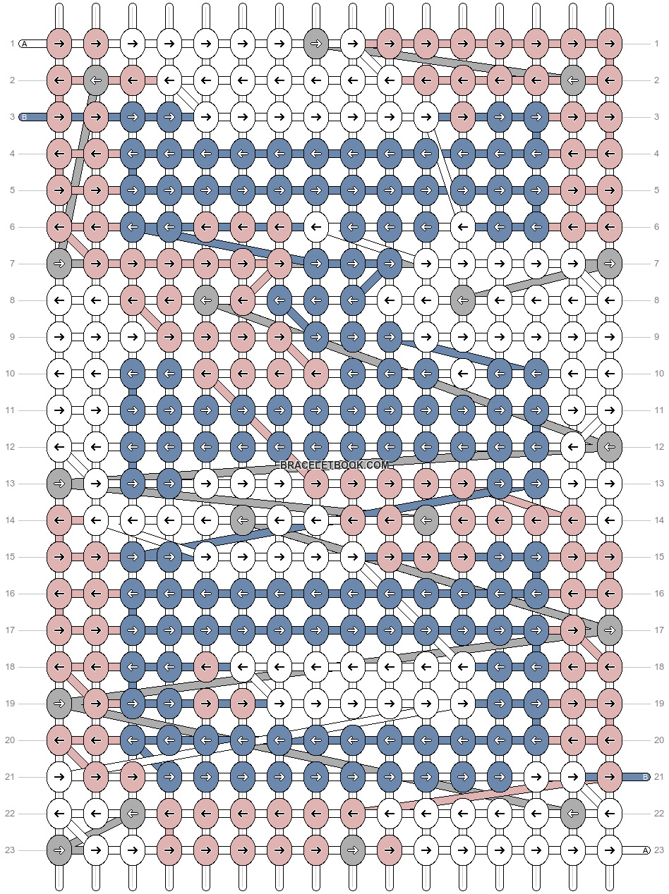 Alpha pattern #80953 pattern