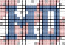 Alpha pattern #80953