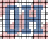 Alpha pattern #80954