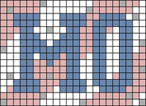 Alpha pattern #80955