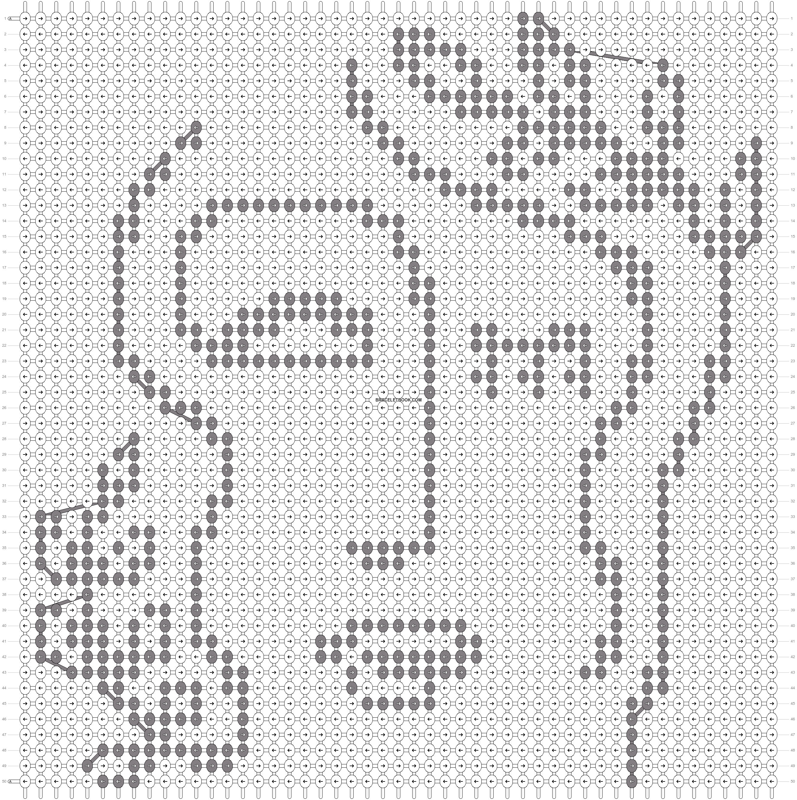 Alpha pattern #80972 pattern