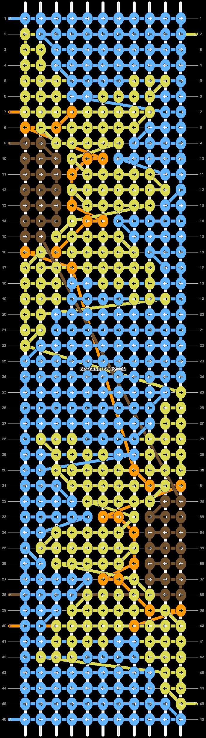 Alpha pattern #80992 pattern