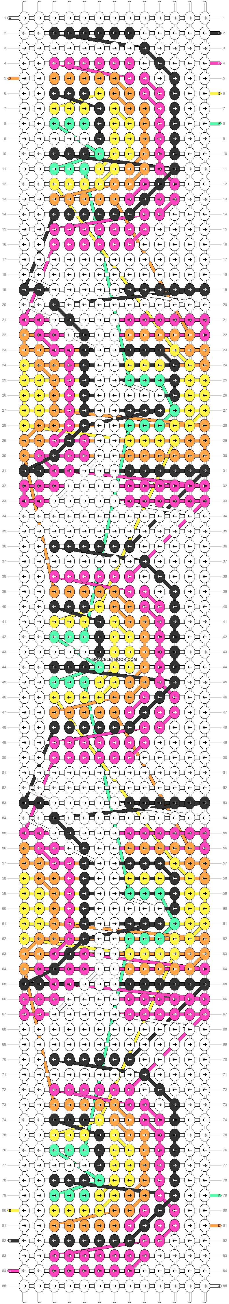 Alpha pattern #81005 pattern
