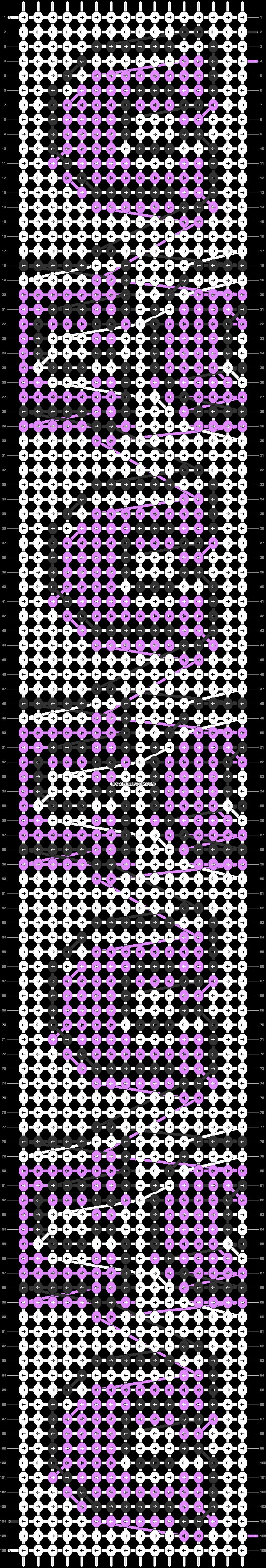 Alpha pattern #81011 pattern