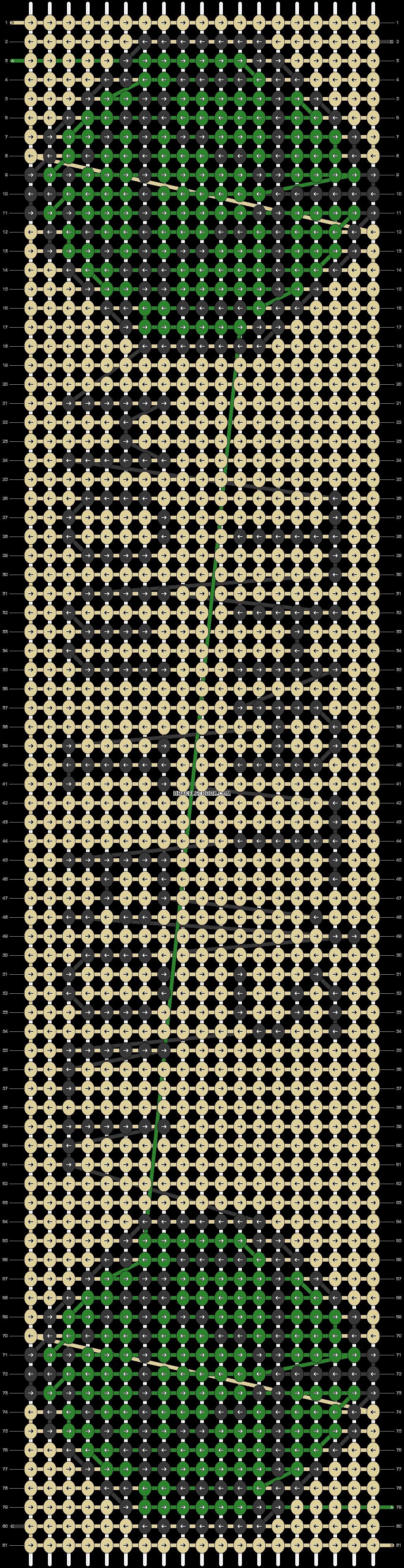 Alpha pattern #81103 pattern