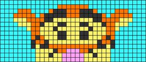 Alpha pattern #81166