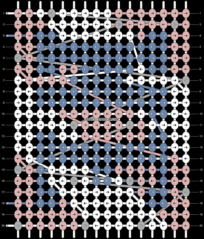 Alpha pattern #81206 pattern