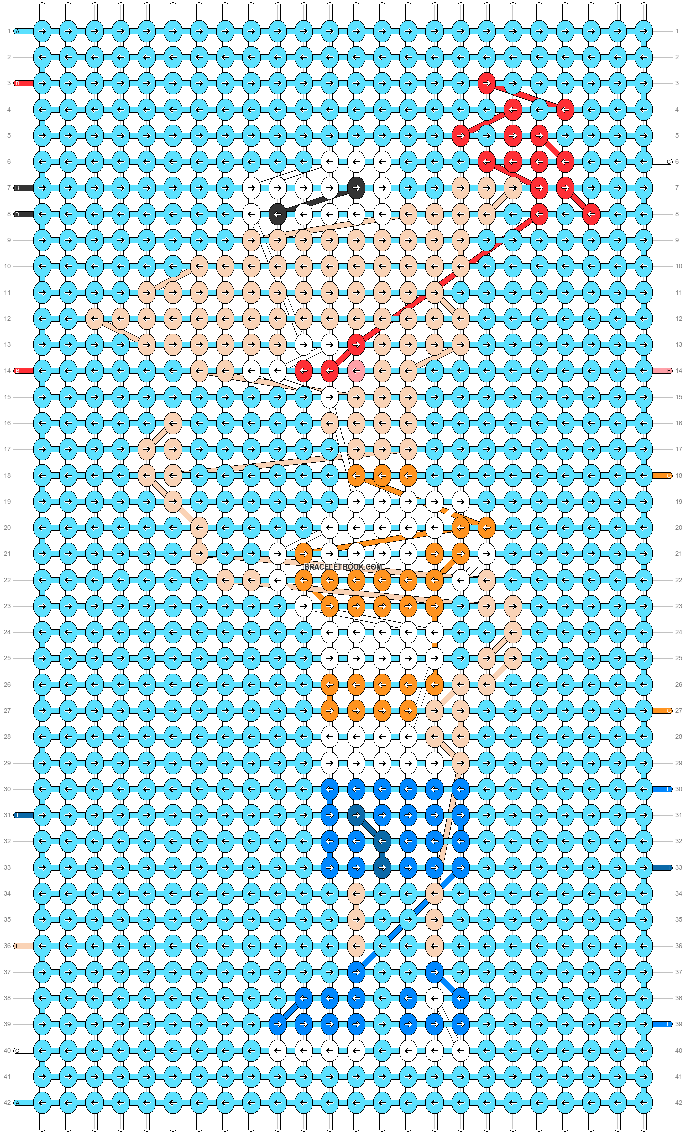 Alpha pattern #81208 pattern
