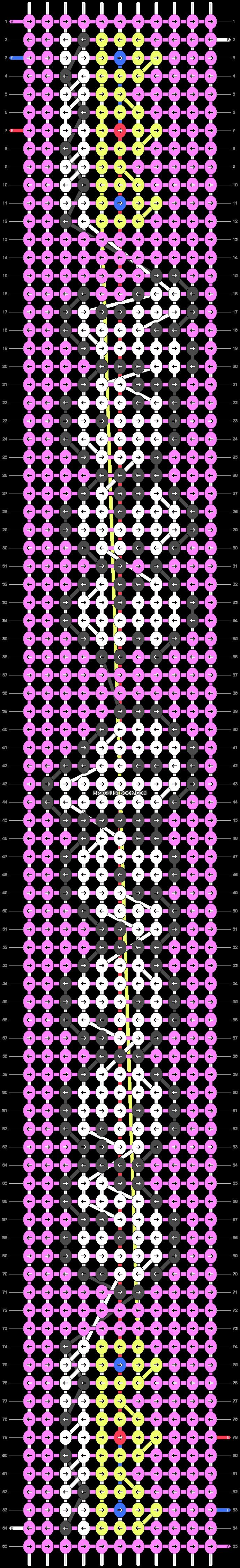 Alpha pattern #81210 pattern