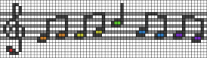 Alpha pattern #81237