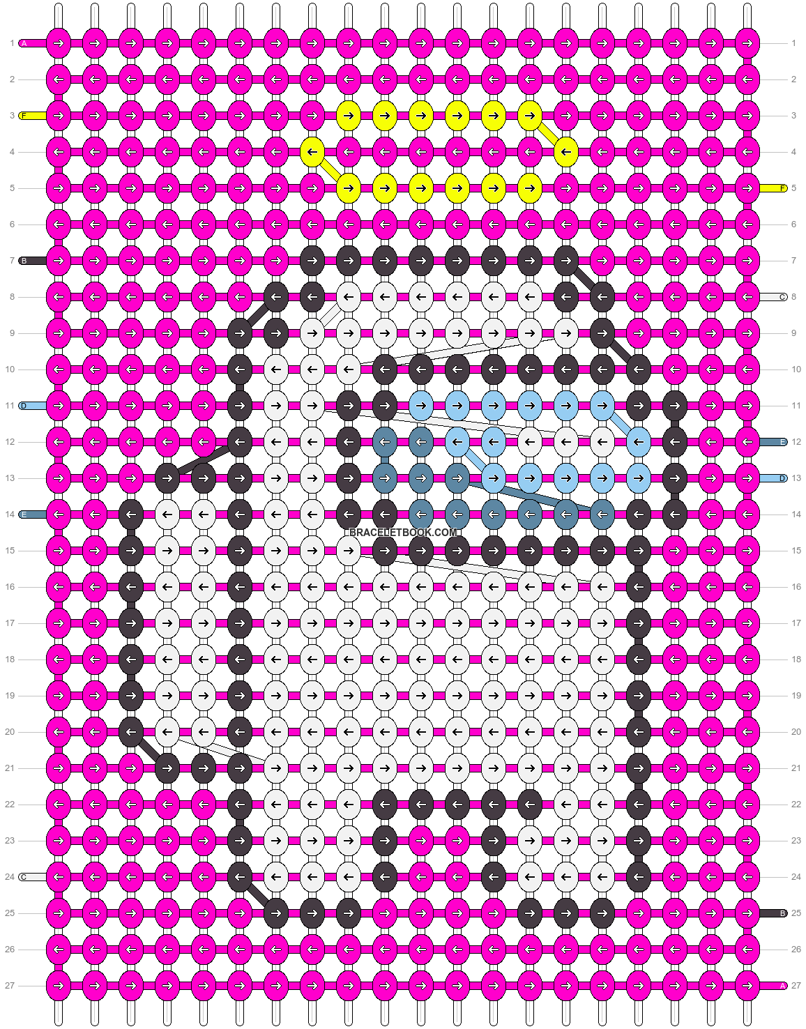Alpha pattern #81274 pattern