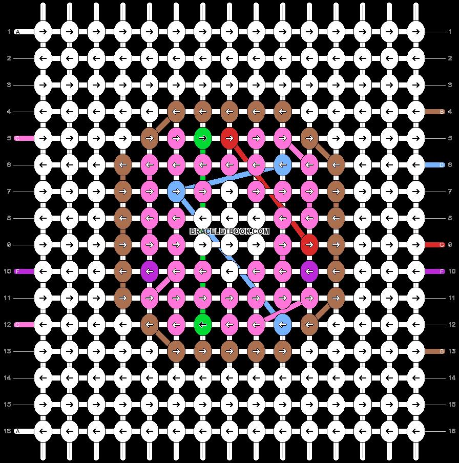 Alpha pattern #81343 pattern