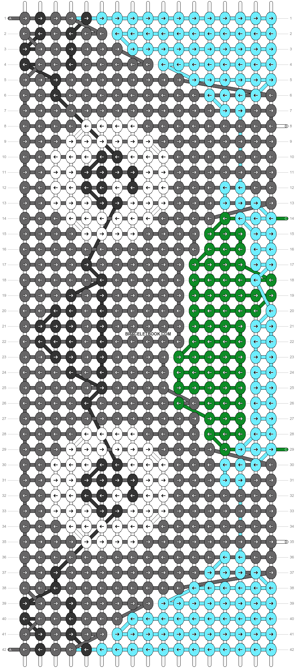 Alpha pattern #81357 pattern