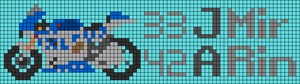 Alpha pattern #81379