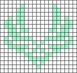 Alpha pattern #81409
