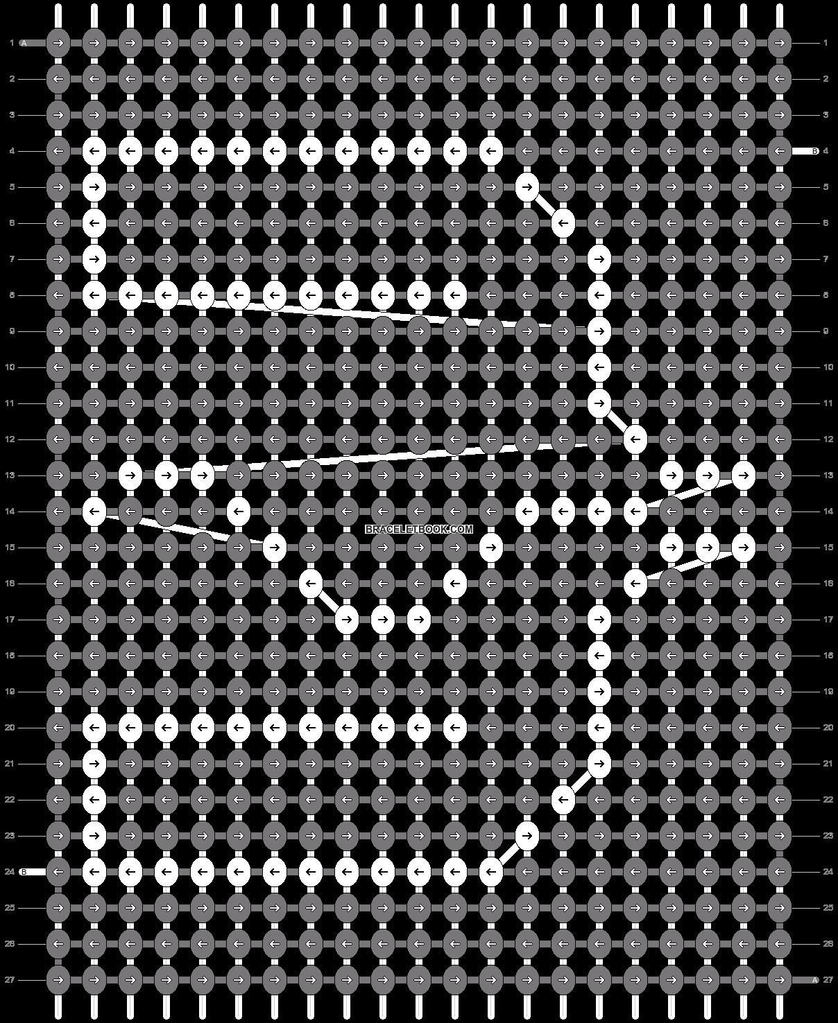 Alpha pattern #81465 pattern