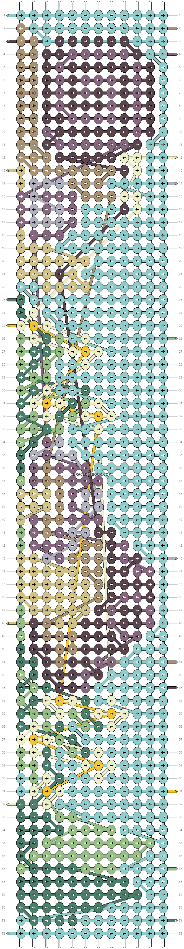Alpha pattern #81534 pattern
