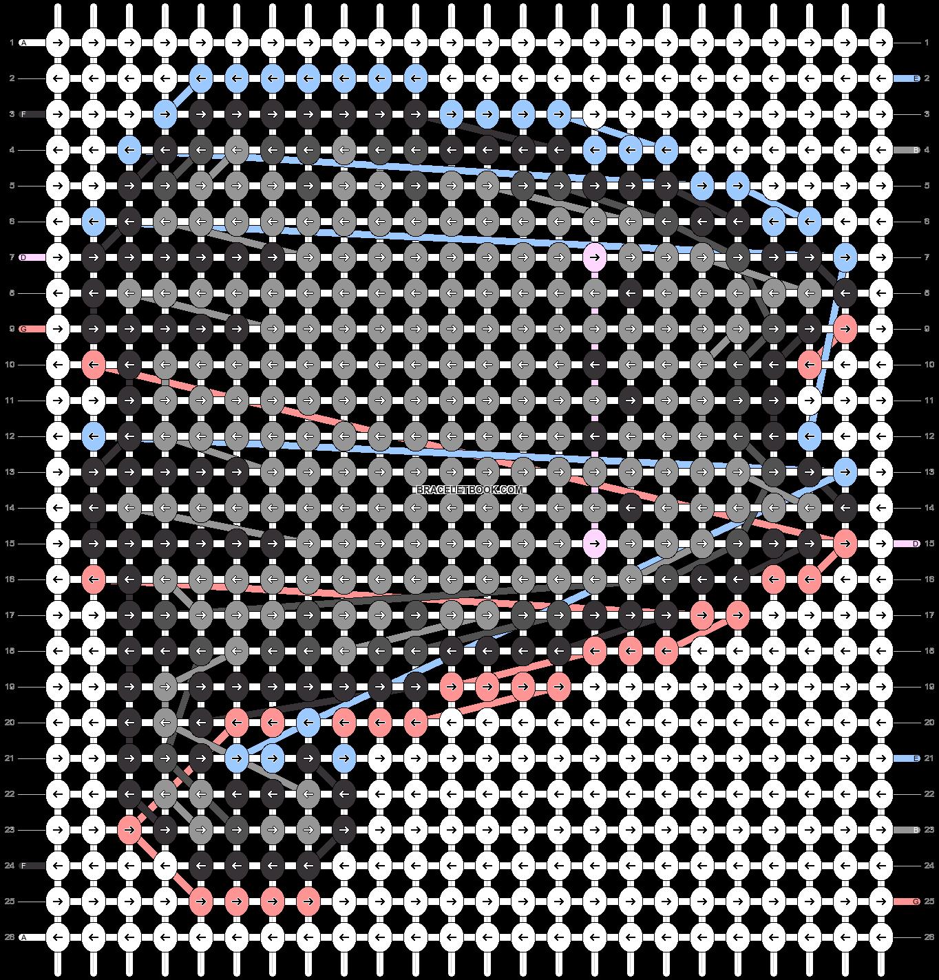 Alpha pattern #81546 pattern