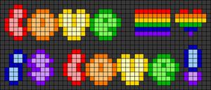 Alpha pattern #81595