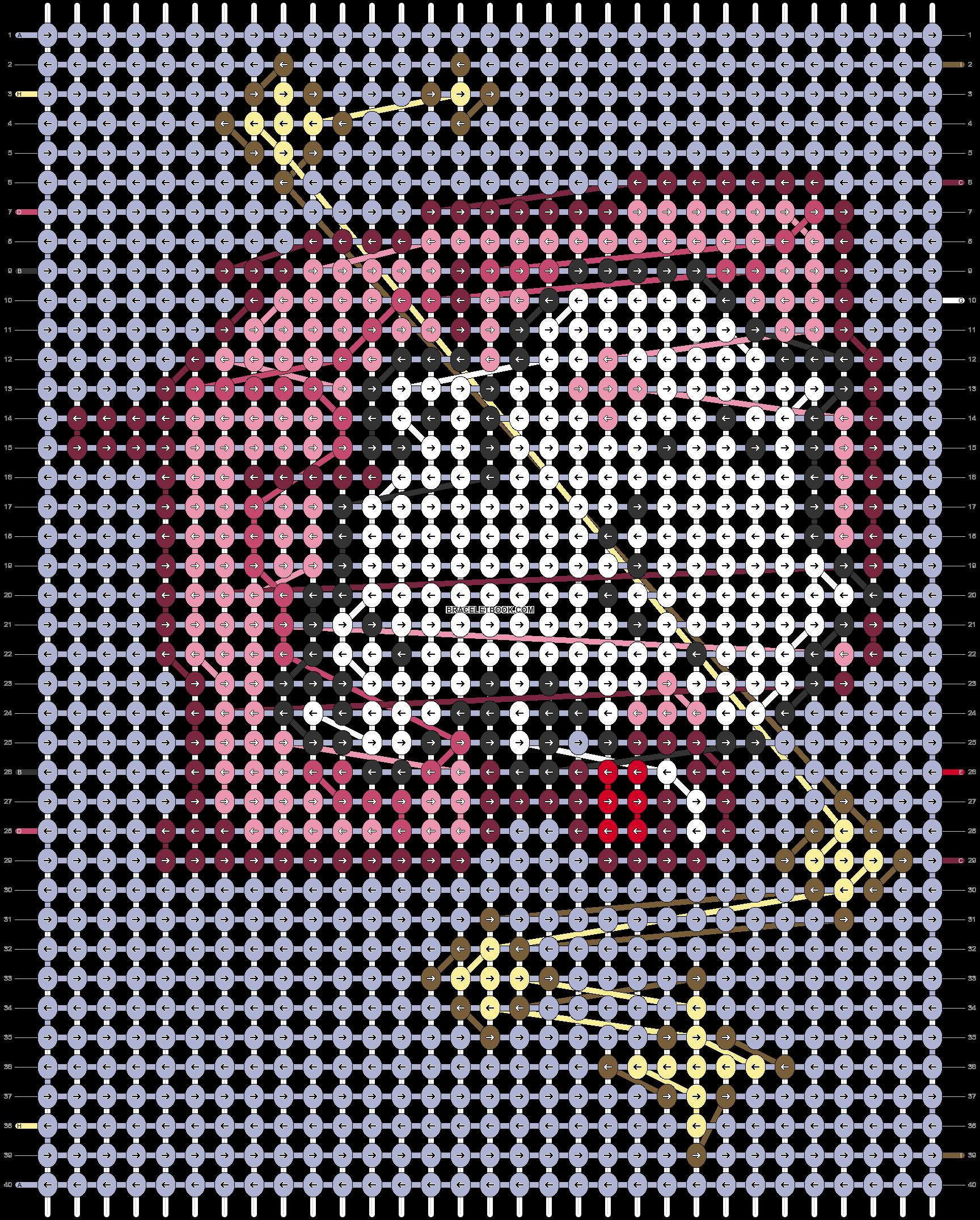 Alpha pattern #81619 pattern