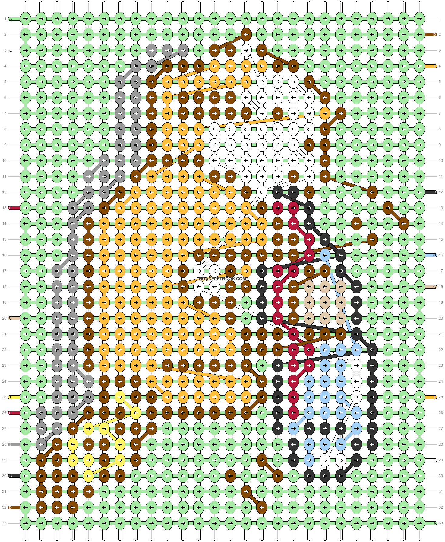 Alpha pattern #81622 pattern