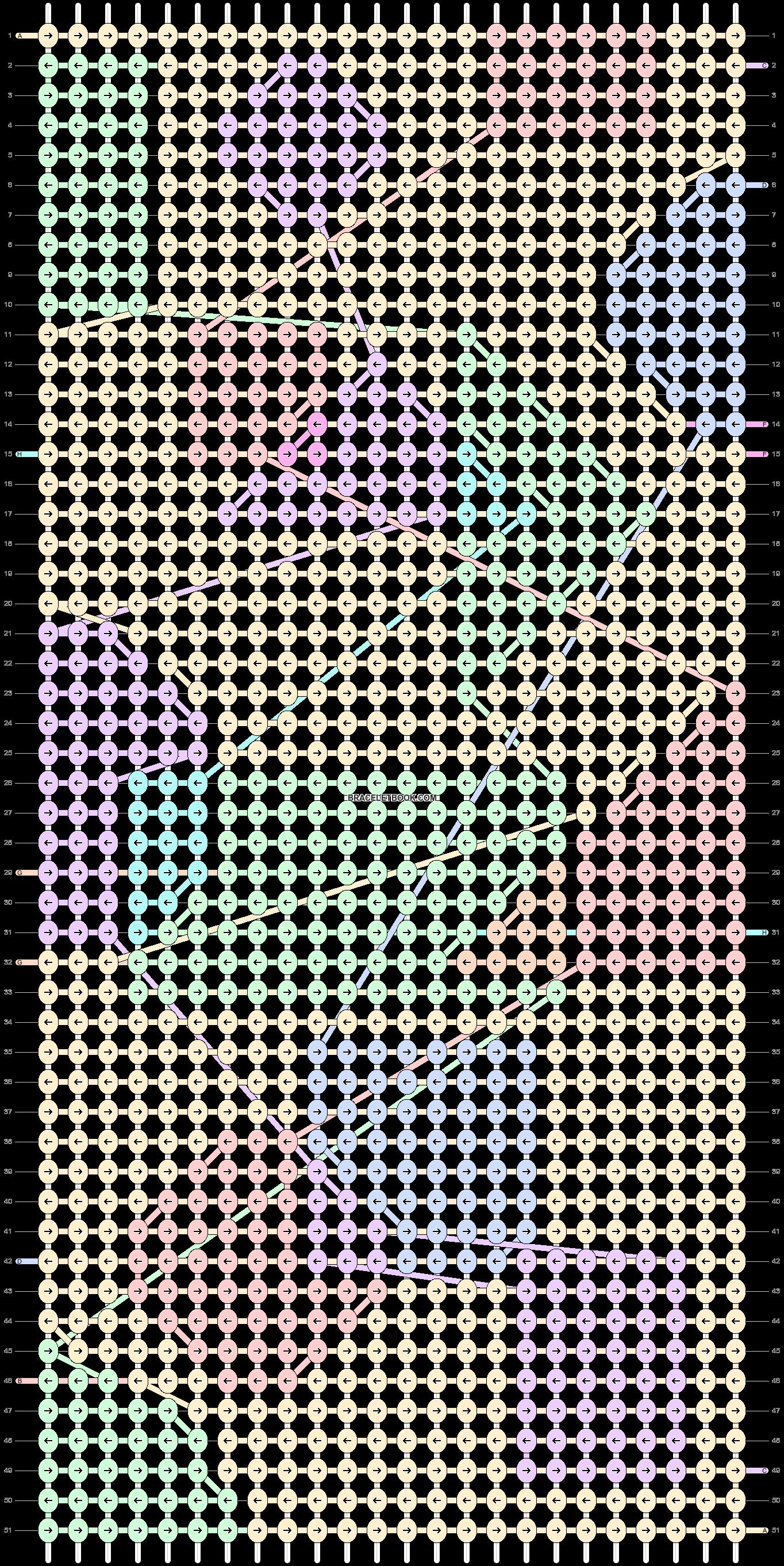 Alpha pattern #81673 pattern