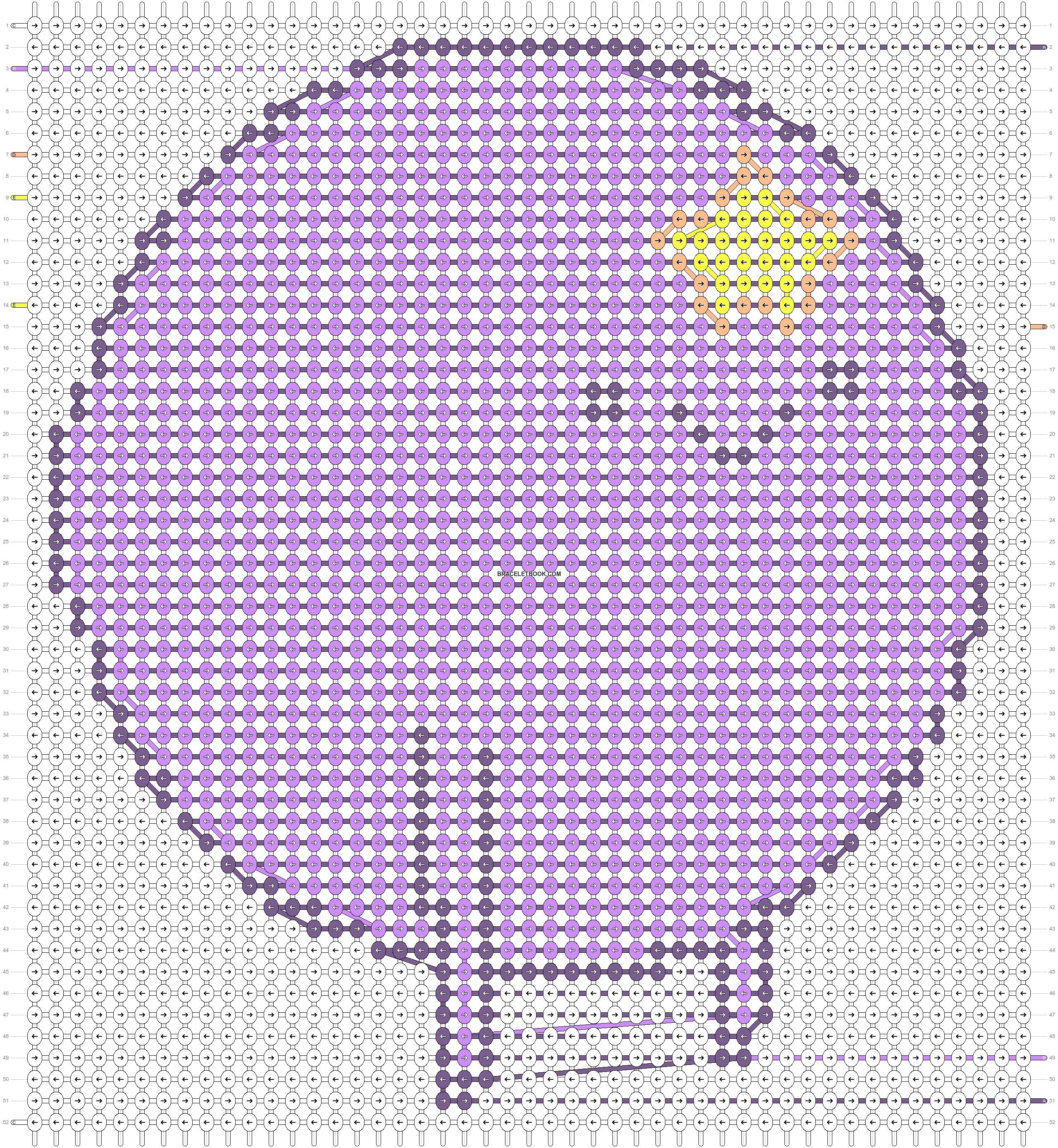 Alpha pattern #81677 pattern