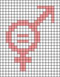 Alpha pattern #81683