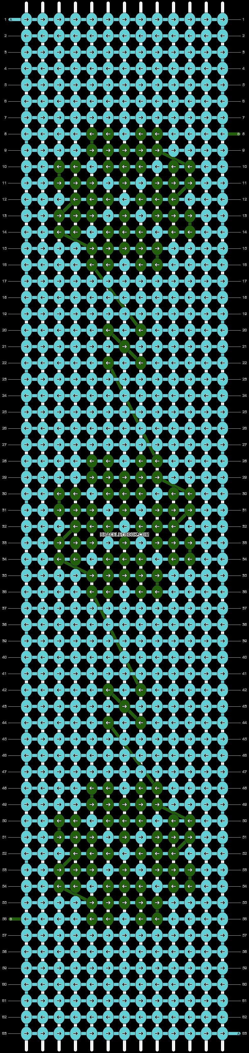 Alpha pattern #81689 pattern