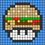 Alpha pattern #81690