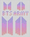 Alpha pattern #81709