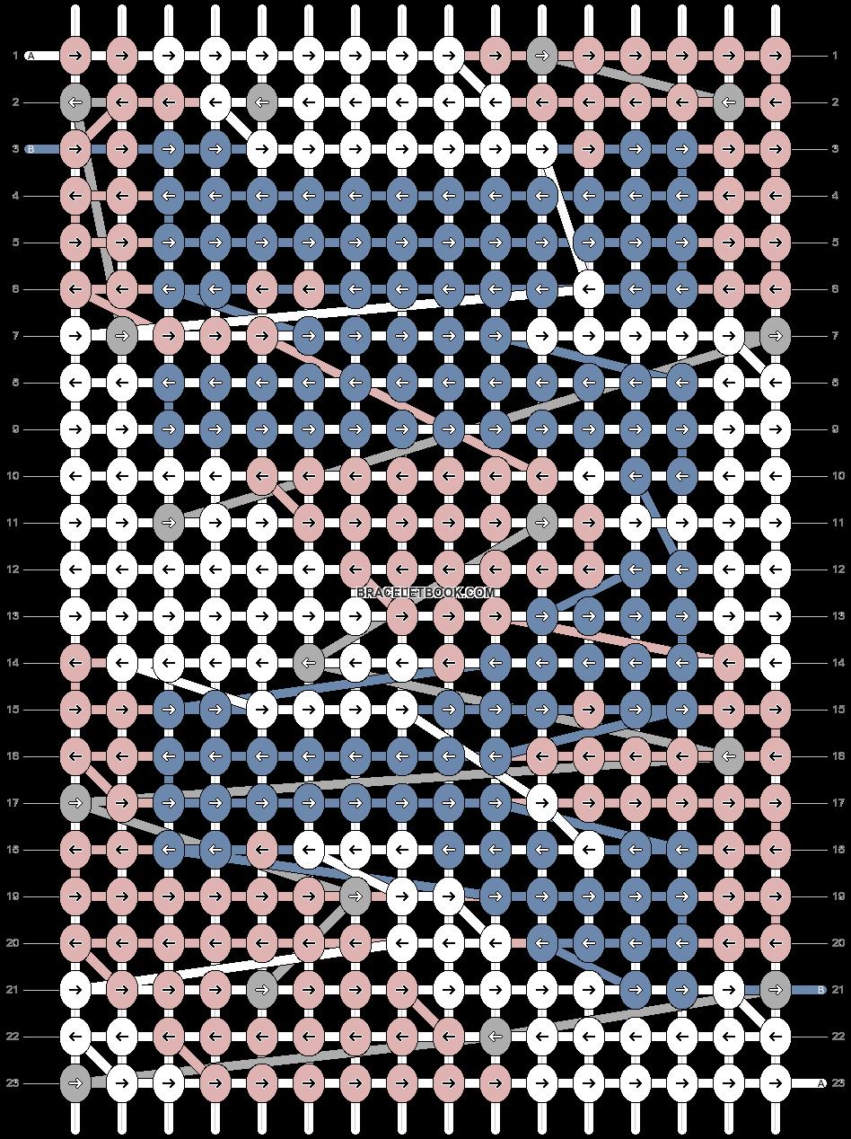 Alpha pattern #81710 pattern
